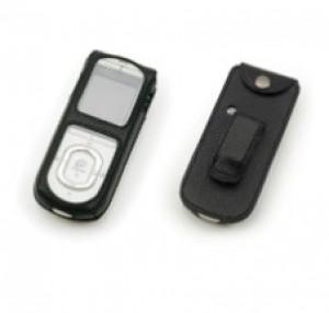 Nucleus® 5 Чехол для устройства дистанционного управления (CR110), кожаный/черный